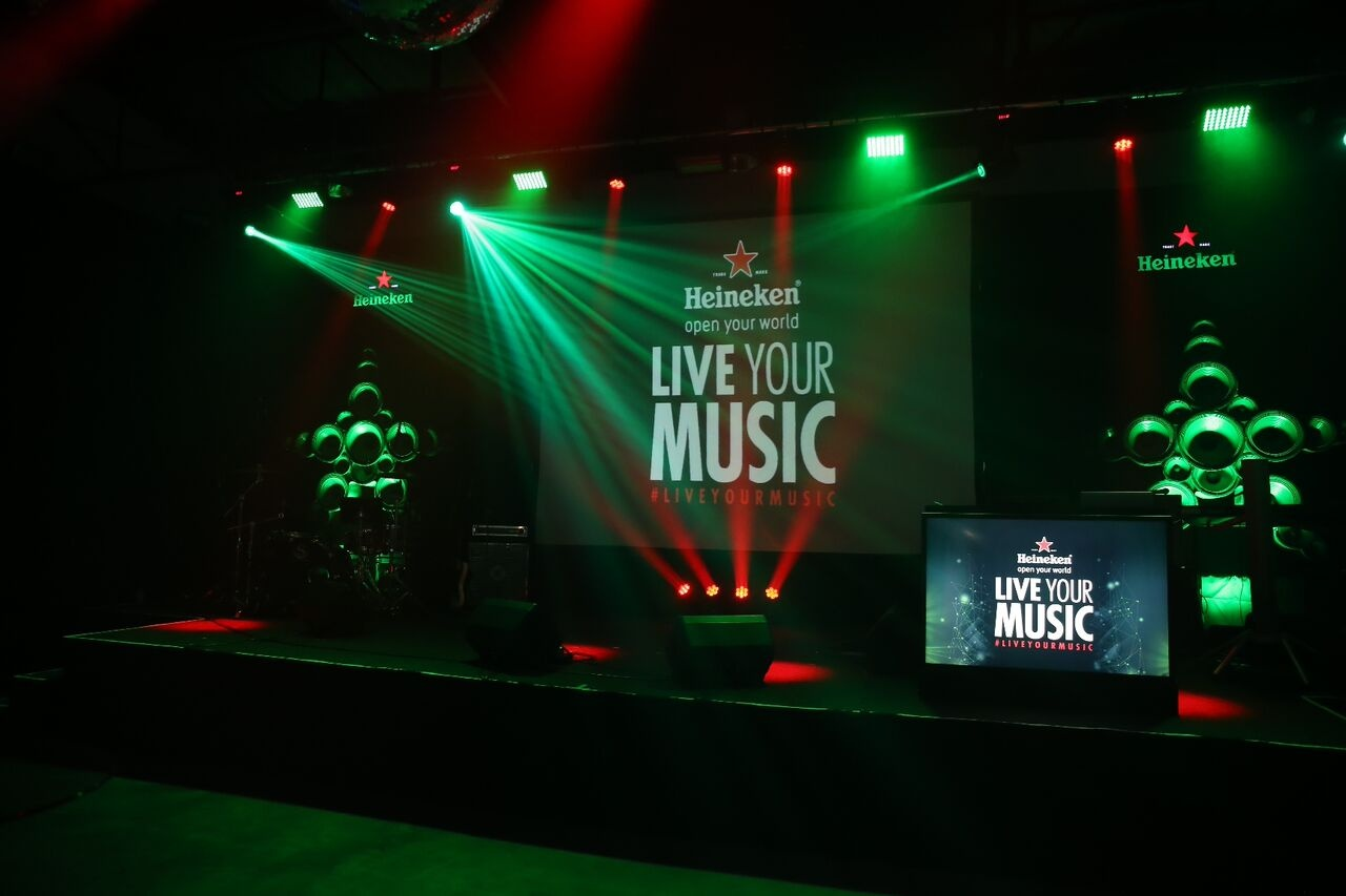 Heineken® Live Your Music