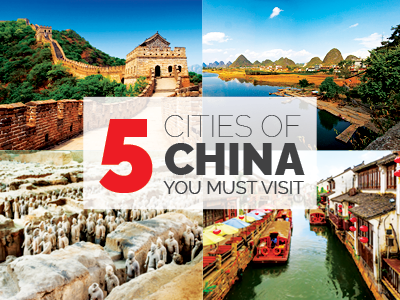 5 Cities of China You Must Visit